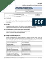 Job Descriptions Roles and Responsibilities