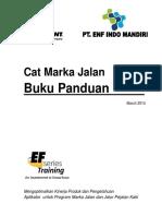 Buku Panduan Cat Marka Jalan