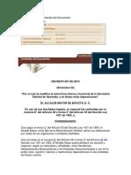 Decreto 601 de 2014