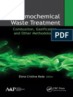 Rada, Elena Cristina Thermochemical Waste Treatment Combustion, Gasification, And Other Methodologies