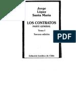 Lopez Santa Maria Jorge Contratos Parte General Tomo I PDF