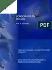 sonografia de tiroide