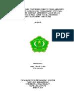 JURNAL FOTO POLOS (BNO) INTRAVENOUS PYELOGRAPHY (IVP)