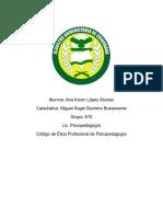 Documents.tips Codigo de Etica Psicopedagogia Karen Lopez