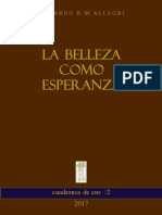 Eduardo Allegri - La belleza como esperanza.pdf