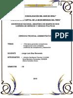 Derecho Administrativo. Competencia Administrativa. Ilene