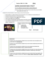 Fertile Question Assessment Topic 1 2016