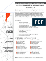 CIRCULAR 1 CONGRESO FELS Bogotá, Plazo Envío Resumen 15.05.2017