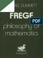 Michael Dummett Frege Philosophy of Mathematics