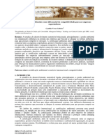 Certificações Ambientais e a Economia