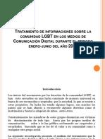 Tratamiento de Informaciones Sobre La Comunidad LGBT En