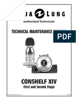 Aqualung Conshelf 14 Users Manual