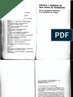 249891360 Germani Politica y Sociedad en Una Epoca de Transicion Cap 6 PDF
