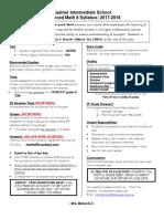 adv math 8 syllabus