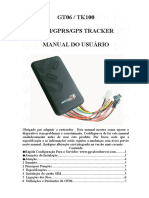 TK100 Portugues User Manual