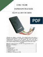 TK100 Portugues User Manual