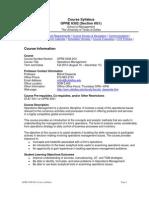 UT Dallas Syllabus for opre6302.0g1.10f taught by Milind Dawande (milind)