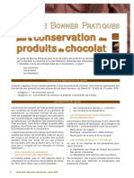 Guide Conservation Chocolat