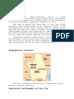 Case Study in Community Development of Cabanatuan City