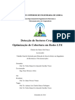 Detecção de Sectores Cruzados e Optimizçao em Rede LTE