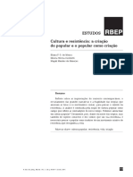 Cultura e Resistência-A Criação Do Popular e o Popular Como Criação - RBEP
