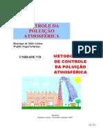 Controle da Poluição Atmosférica - Cap 7 - Métodos de controle da poluição atmosférica.pdf