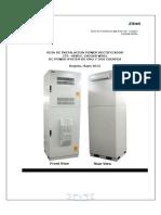 Instalación Fuerza (W301) ZTE 18 KW, -48 VDC