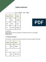 Forming Sentences 95749