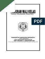 Programa kerja Wali kelas.doc