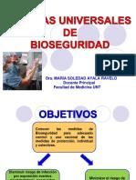 Medidas Universales de Bioseguridad-Dra Ayala
