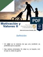 C4 Motivación y Valores Parte II
