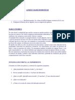 Laboratorio de Acidos y Bases y Laboratorio de Redox
