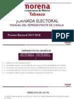 Manual Del Representante de Casilla 2017-2018