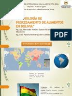 Presentación Bolivia