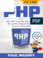 Learn Php & MySQL With Ultimate