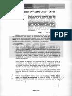 Resolución Nº 1690-2017-TCE-S1
