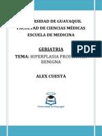 Hiperplasia Prostatica Benigna