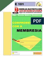 Classe 101 - Comprometidos Com a Membresia