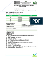 01 Ficha de Caracterización de Dépositos de Material Excedente 01
