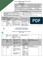 PLAN CURRICULAR ANUAL Desarrollo y Evaluacion de Aplicaciones Informaticas