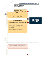 Flujograma y Fichas Revision Por OC Remitido