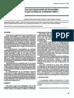 Anotaciones Geoquímicas Para Exploración de Esmeraldas en La Región Muzo-Coscuez Con Base en La Relación Na-K y Elementos Traza