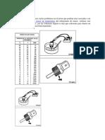Sensor Del Refrigerante de Motor