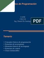 CM-218 Fundamentos de Programacion