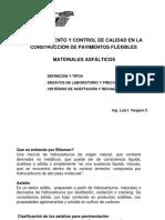 Materiales Asfalticos (Presentación)