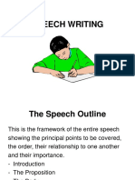 SPEECH WRITING.ppt