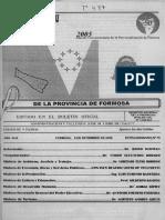 Ley 1480 - Formosa - Argentina