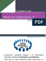 ConstruyeT y Los Proyectos Grupales