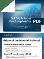 ARIN-V4 Deplete v6 Adopt