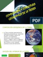 Composición y Estructura Geoquímica de La Tierra